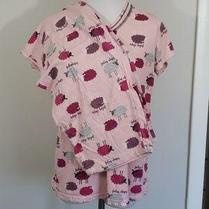 Pink Sheep Pajamas